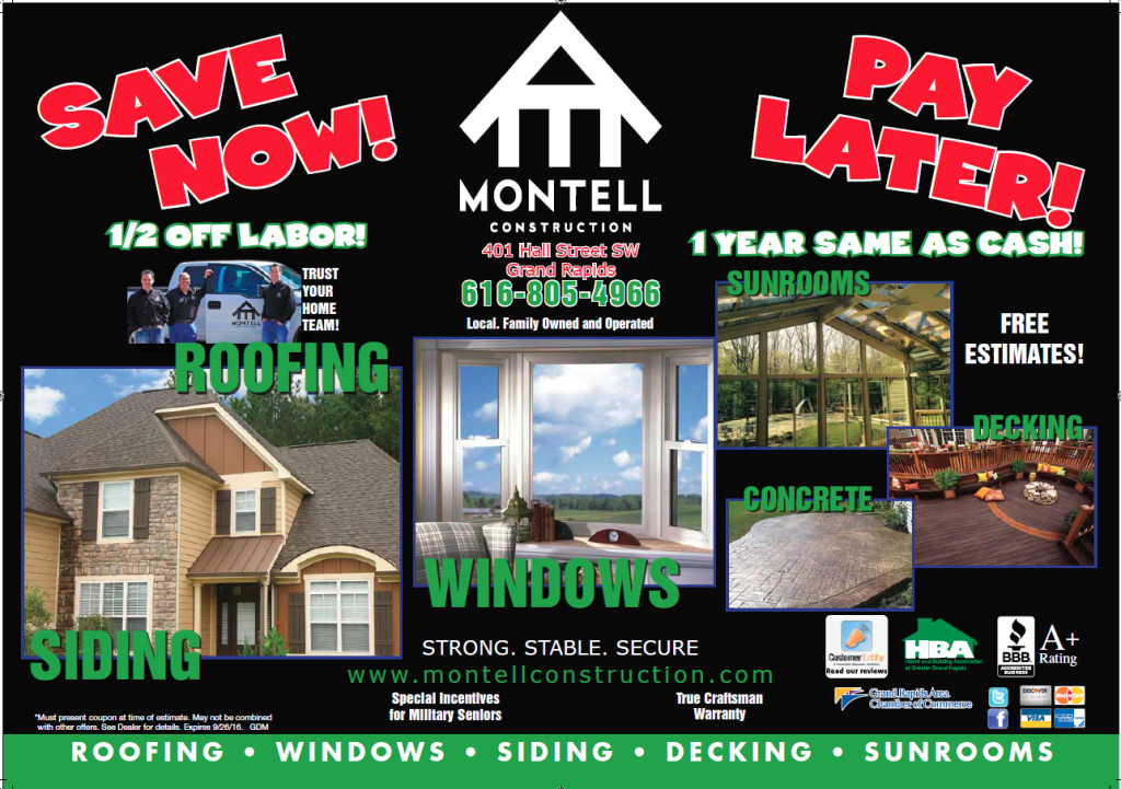 Sales Amp Promotions Montell Construction